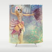 cara Shower Curtains featuring Cara Dunning by Cara Dunning Art