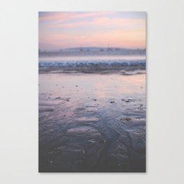 A California Sunset Canvas Print