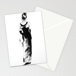 Audrey dress Stationery Cards