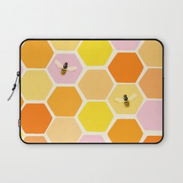 Busy As A Bee In A Hive Laptop Sleeve