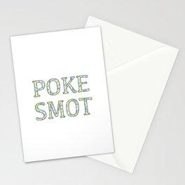 Poke Smot Stationery Cards