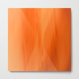 Color Serie 1 orange Metal Print
