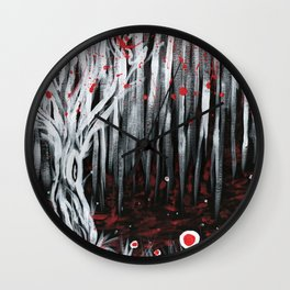 Requiem For A Tree Wall Clock