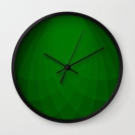 Emerald Divergence Wall Clock