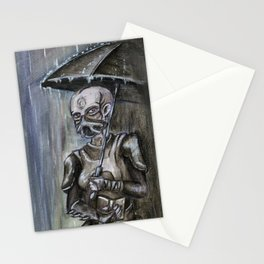 Under the Rain Stationery Cards