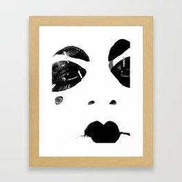 HATE Framed Art Print