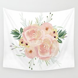 Wild Rose Wall Tapestry