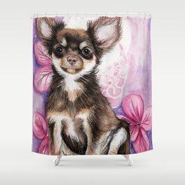 Dream Puppy Shower Curtain