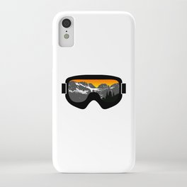 Sunset Goggles 2 | Goggle Designs | DopeyArt iPhone Case