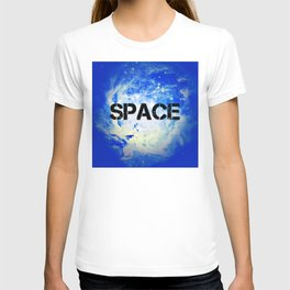 Blue Space T-shirt