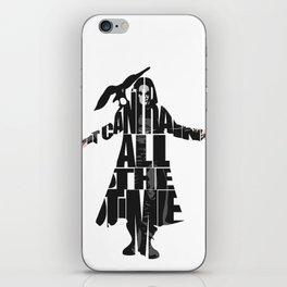 The Crow iPhone Skin