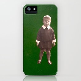Green nostalgia iPhone Case
