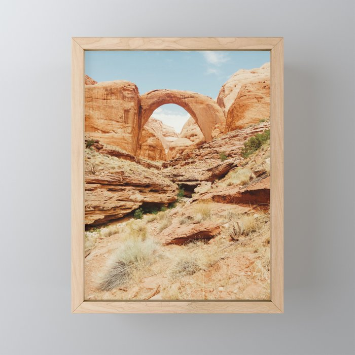 Rainbow Bridge Framed Mini Art Print