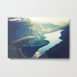 Mountain Meditation Metal Print