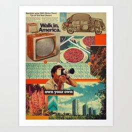 Retrica Art Print