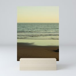 charming view of the sea at the pacific coast  Mini Art Print