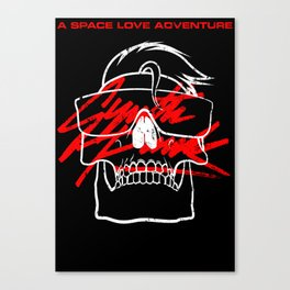 A Space Love Adventure - SYNTH PUNK Canvas Print
