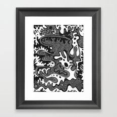 The Great Divide Part I Framed Art Print
