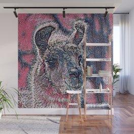 GlitzyAnimal_Alpaca_001_by_JAMColors Wall Mural