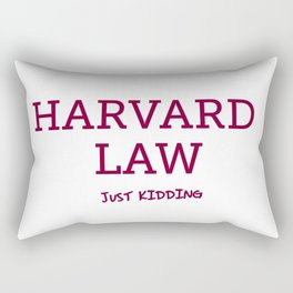 Harvard Law Rectangular Pillow