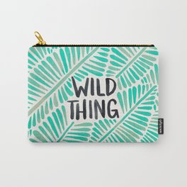 Wild Thing – Mint Palette Carry-All Pouch