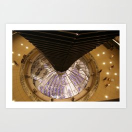 F O S T E R | architect | Reichstag, New German Parliament Art Print