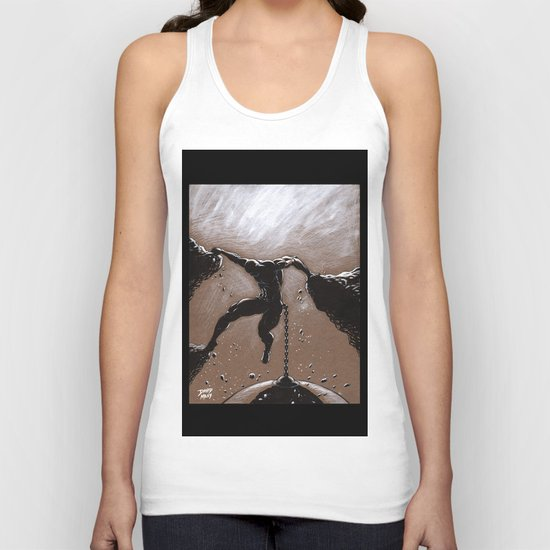 Hanging On  Unisex Tank Top
