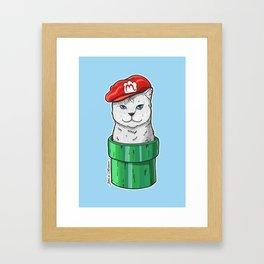 Meow Bro 1 Framed Art Print