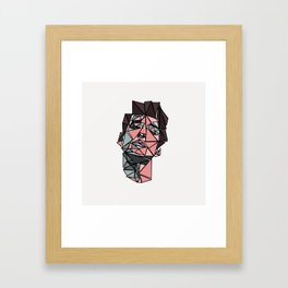 Triangular Bob Dylan Framed Art Print
