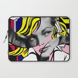 Roy Lichtenstein's Maybe and Lauren Bacall Laptop Sleeve