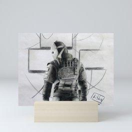 Vigil (Rainbow Six Siege) Mini Art Print