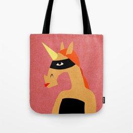 Masked Unicorn V03 Tote Bag