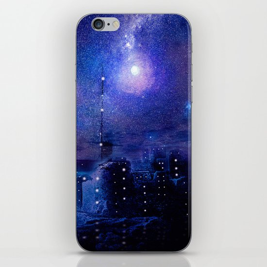 City of lights iPhone & iPod Skin