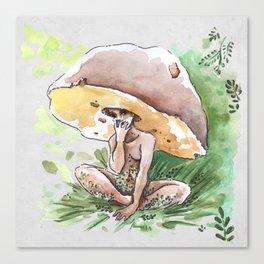 Empire of Mushrooms: Boletus Edulis Canvas Print
