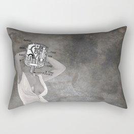 Plugged In Rectangular Pillow