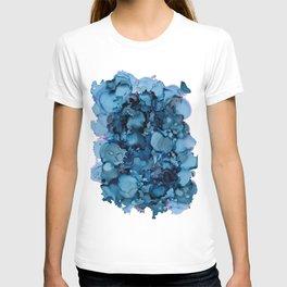 Indigo Abstract Painting   No. 8 T-shirt