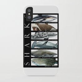 Sharks of the World iPhone Case
