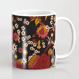 Australian Natives Red Blossom Coffee Mug