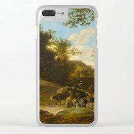BOTH, JAN DIRCKSZ. (FOLLOWER) (1615 Utrecht 1652) A flock of sheep. Clear iPhone Case