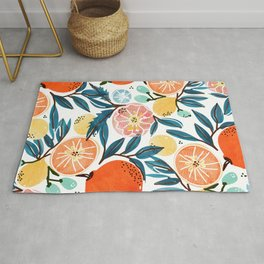 Fruit Shower Rug