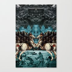 SERFS UP Canvas Print
