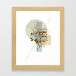 Camioneta Framed Art Print