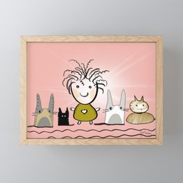 Family Framed Mini Art Print