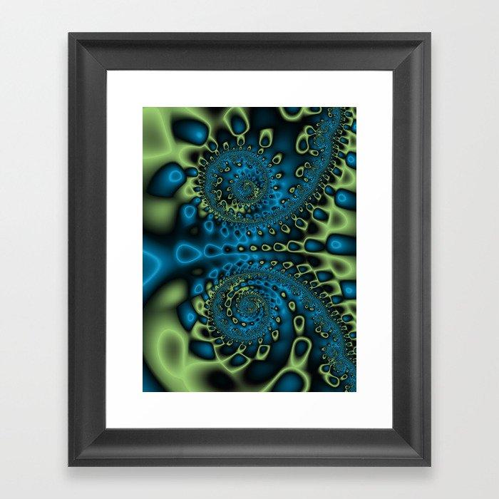 Bioluninescence #2 Framed Art Print