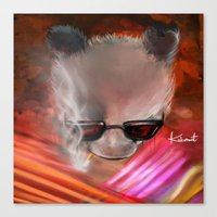 infamous Canvas Prints featuring infamous by kobymartin