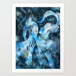 One So Young Art Print