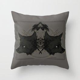 Colder Throw Pillow