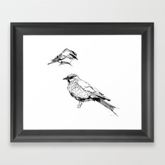 Sketchy Fellas Framed Art Print