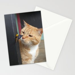 Max and Butterfly Stationery Cards