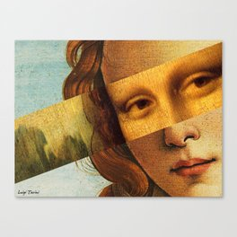 Mona Lisa Canvas Print